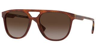 Burberry BE4302 382313 BROWN GRADIENTTOP TB BLACK ON LIGHT HAVANA