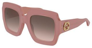 Gucci GG0178S 007 BROWNPINK