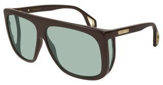 Gucci GG0467S 004 GREENBROWN