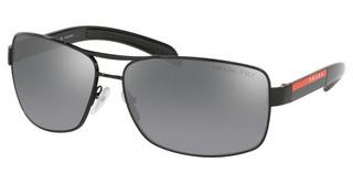 Prada Sport PS 54IS 1AB2F2 POLAR GREY MIRROR SILVER GRADBLACK