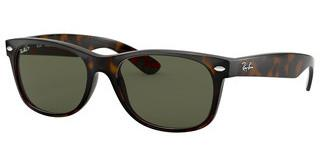 Ray-Ban RB2132 902/58 CRYSTAL GREEN POLARIZEDTORTOISE