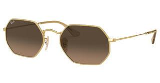 Ray-Ban RB3556N 912443 BROWN GRADIENT GREYGOLD