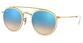 Ray-Ban RB3647N 001/4O GRADIENT BROWN MIRROR BLUEGOLD
