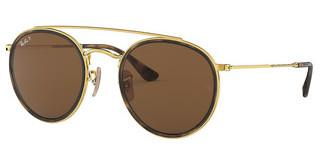 Ray-Ban RB3647N 001/57 POLAR BROWNGOLD
