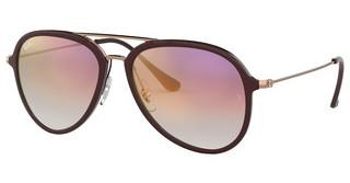 Ray-Ban RB4298 6335S5 CLEAR GRADIENT VIOLETCHOCCOLATE