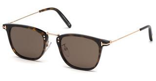 Tom Ford FT0672 52E braunhavanna dunkel