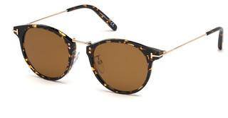 Tom Ford FT0673 52E braunhavanna dunkel