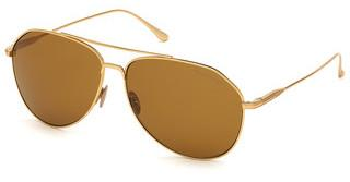 Tom Ford FT0747 30E brauntiefes gold glanz