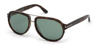 Tom Ford FT0779 52N grünhavanna dunkel