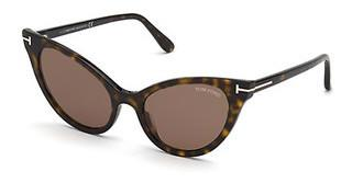 Tom Ford FT0820 52E braunhavanna dunkel