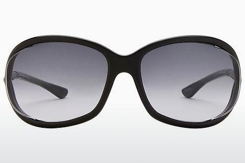 Sonnenbrille Tom Ford Jennifer (FT0008 01B)