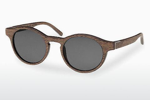 Occhiali da vista Wood Fellas Flaucher (10754 black oak/grey)