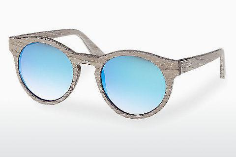 Sonnenbrille Wood Fellas Au (10756 chalk oak/blue)