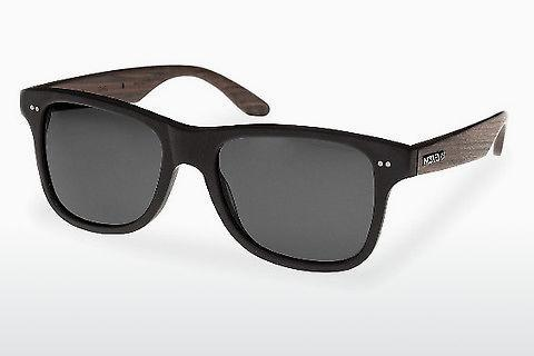 Sonnenbrille Wood Fellas Lehel (10757 rosewood/black/grey)
