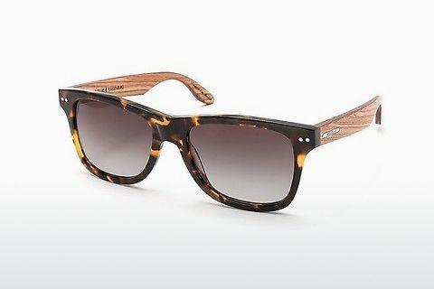 Sonnenbrille Wood Fellas Plassenburg (10778 zebrano)