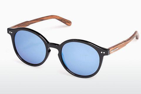 Sonnenbrille Wood Fellas Basic Leuchtenberg (10793 black oak)