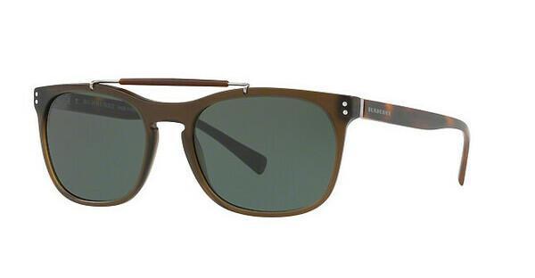 BURBERRY Burberry Herren Sonnenbrille » BE4244«, grün, 361671 - grün/grün