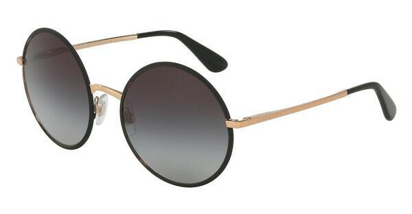 DOLCE & GABBANA Dolce & Gabbana Damen Sonnenbrille » DG2155«, schwarz, 12968G - schwarz/grau