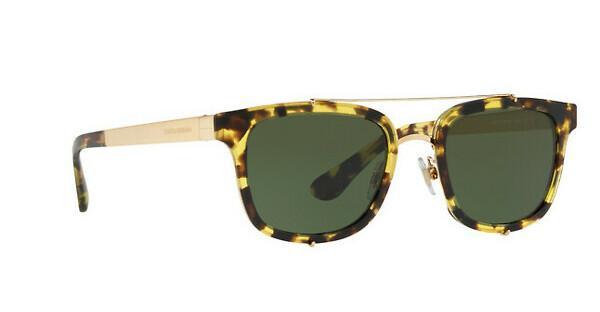 DOLCE & GABBANA Dolce & Gabbana Herren Sonnenbrille » DG2184«, gelb, 296971 - gelb/grün
