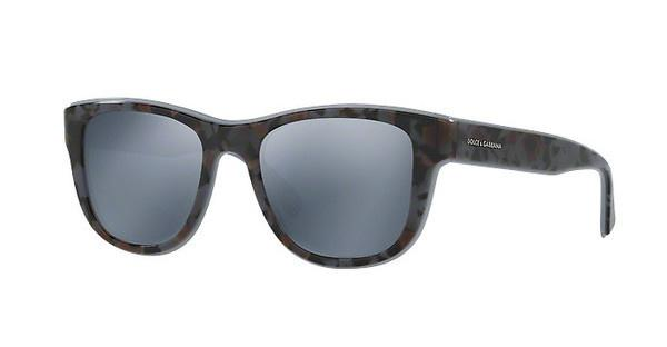 DOLCE & GABBANA Dolce & Gabbana Herren Sonnenbrille » DG4284«, schwarz, 3073Y6 - schwarz/silber