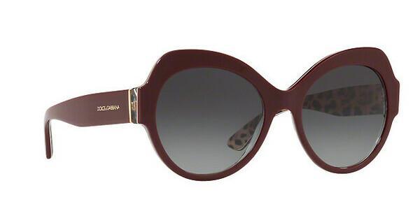 DOLCE & GABBANA Dolce & Gabbana Damen Sonnenbrille » DG4320«, rot, 31568G - rot/grau