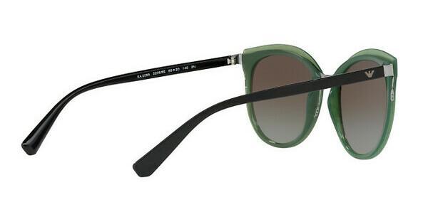 Emporio Armani Damen Sonnenbrille » EA2055«, grün, 32068E - grün/grün