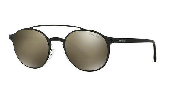 Giorgio Armani Herren Sonnenbrille » AR6060«, schwarz, 30015A - schwarz/gold