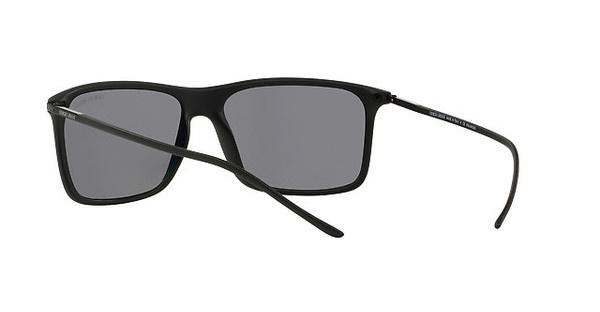 Giorgio Armani Herren Sonnenbrille » AR8034«, schwarz, 504281 - schwarz/grau