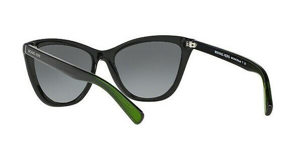 MICHAEL KORS Michael Kors Damen Sonnenbrille »DIVYA MK2040«, schwarz, 321611 - schwarz/grau