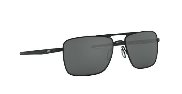 Oakley Herren Sonnenbrille Gauge 6 603801, Schwarz (Powder Coal/Prizmblack), 57
