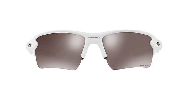 Oakley Herren Sonnenbrille »FLAK 2.0 XL OO9188«, weiß, 918876 - weiß/schwarz