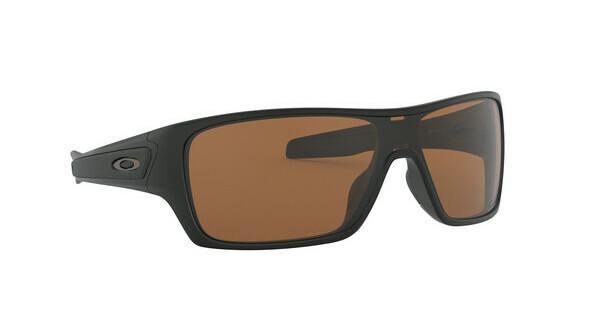 Oakley Herren Sonnenbrille »TURBINE ROTOR OO9307«, schwarz, 930714 - schwarz/braun