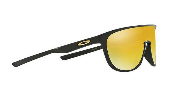 Oakley Herren Sonnenbrille »Trillbe OO9318«, schwarz, 931806 - schwarz/ gelb