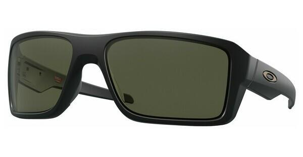 Oakley Herren Sonnenbrille »DOUBLE EDGE OO9380«, schwarz, 938001 - schwarz/grau