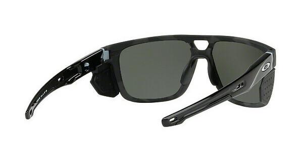 Oakley Herren Sonnenbrille »CROSSRANGE PATCH OO9382«, schwarz, 938207 - schwarz/schwarz