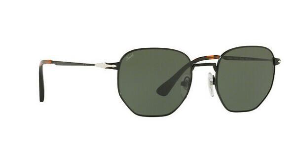 PERSOL Persol Herren Sonnenbrille » PO2446S«, schwarz, 107831 - schwarz/grün
