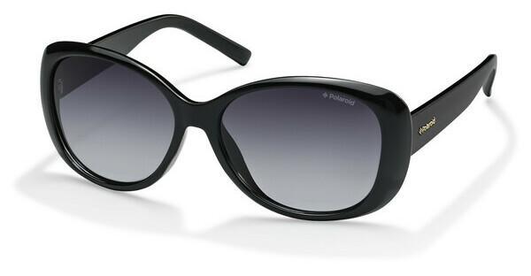 Polaroid Damen Sonnenbrille » PLD 4005/S«, schwarz, D28/IX - schwarz/grau
