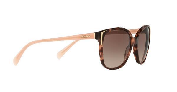 PRADA Prada Damen Sonnenbrille » PR 01OS«, braun, CO56S1 - braun/braun
