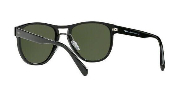 PRADA Prada Herren Sonnenbrille » PR 08US«, schwarz, 1AB1I0 - schwarz/grün