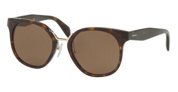PRADA Prada Damen Sonnenbrille » PR 17TS«, braun, 2AU8C1 - braun/braun