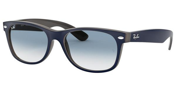 Ray-Ban   RB2132 63083F CLEAR GRADIENT BLUEMATTE BLUE ON OPAL BROWN
