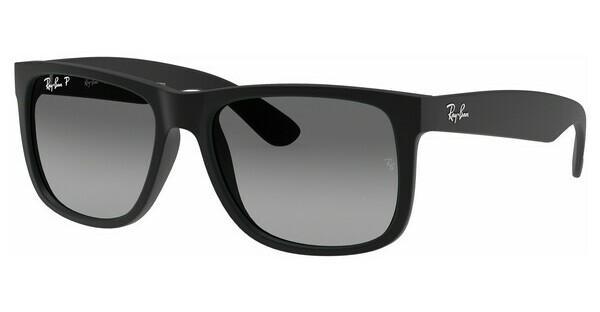 RAY BAN RAY-BAN Herren Sonnenbrille » RB8319CH«, schwarz, 186/5J - schwarz/grau