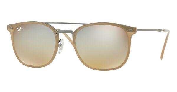 RAY BAN RAY-BAN Herren Sonnenbrille » RB4286«, weiß, 6166B8 - weiß/braun