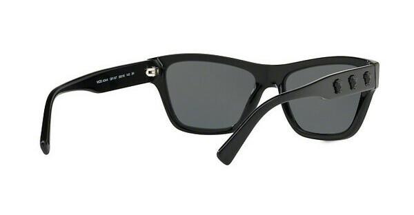 Versace Damen Sonnenbrille » VE4344«, schwarz, GB1/87 - schwarz/grau